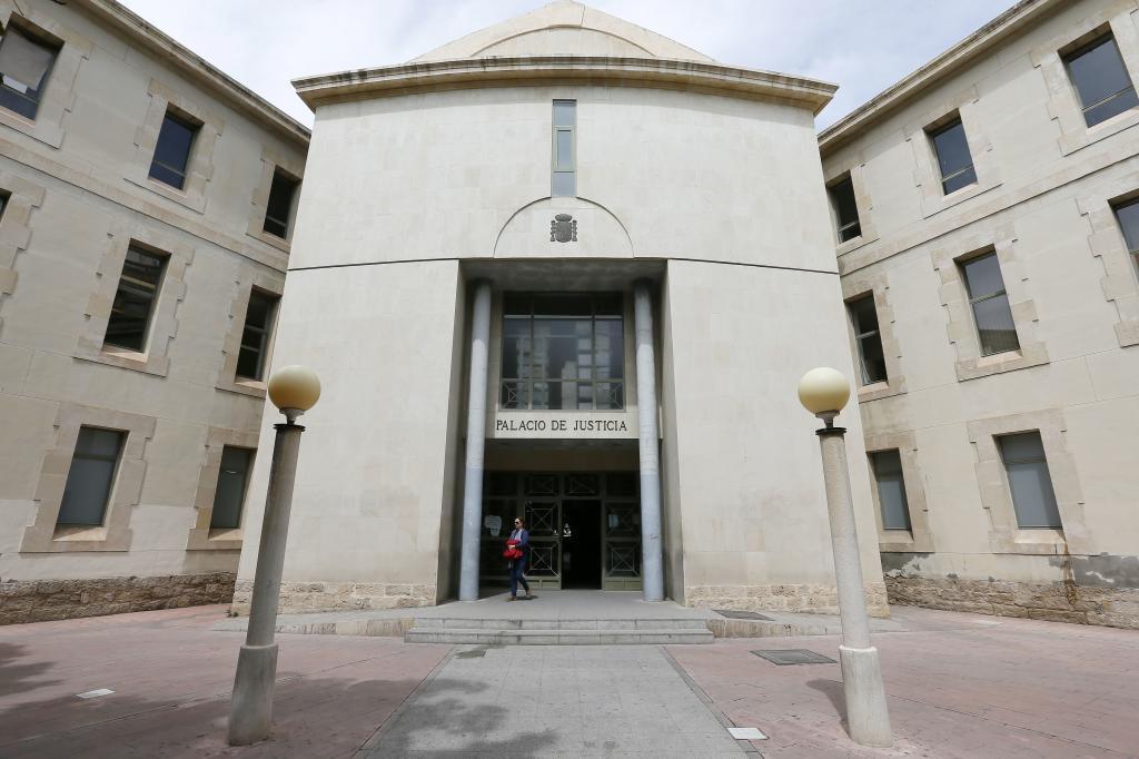 Palacio de Justicia de Alicante.