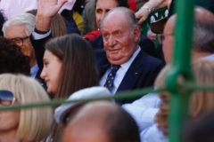 El Rey Don Juan Carlos, en una corrida de toros, el pasado 12 de mayo.