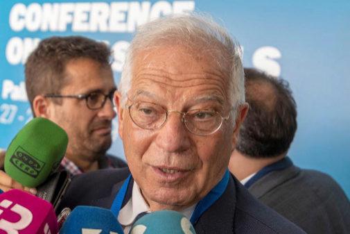Josep Borrell, en un acto en Palma de Mallorca