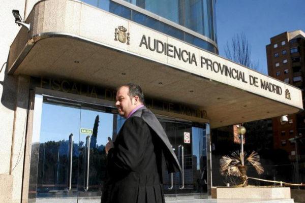 Fachada de la Audiencia  Provincial de Madrid