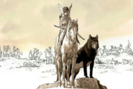 'El corazón de las amazonas' de  Géraldine Bindi y Christian Rossi.