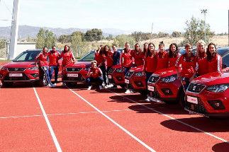 """La alegría de las jugadoras de España al recibir un coche: """"Esto era impensable"""""""