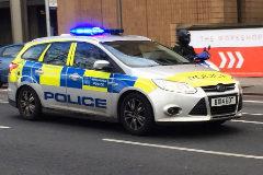 Un coche de la policía de Londres.