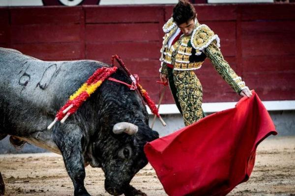 Erguido natural de Robleño al noble aunque no fácil toro de José Escolar.