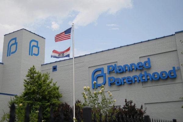 Exterior de la clínica de Planned Parenthood en San Luis, Misuri.