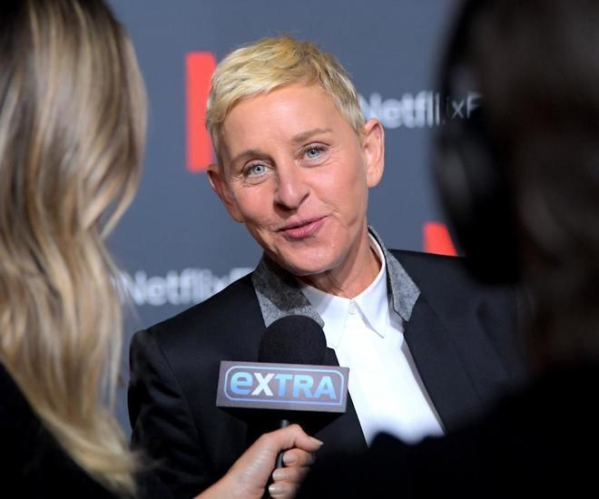 Ellen DeGeneres en los estudios Raleigh, en Los Ángeles, California, EEUU.