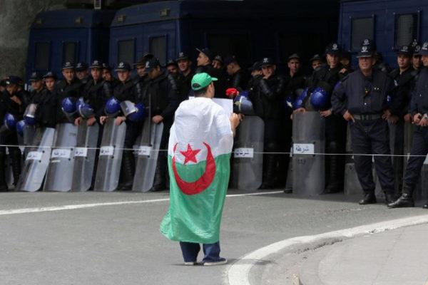 Protesta contra el gobierno del dimitido presidente Abdelaziz Bouteflika, el pasado 24 de mayo.