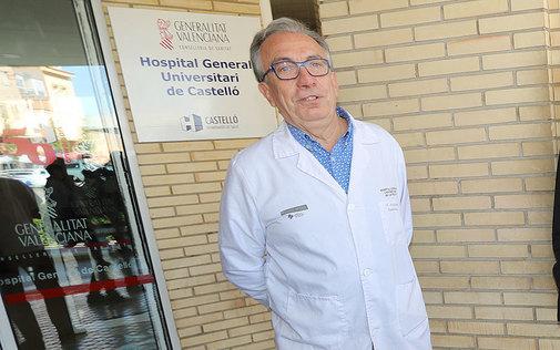 Miguel Alcalde, director gerente del área de Salud en Castellón.