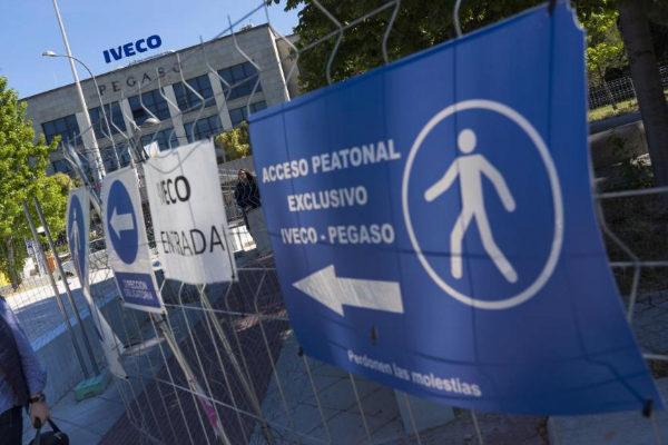 Fábrica Iveco, donde trabajaba la mujer que se ha quitado la vida.