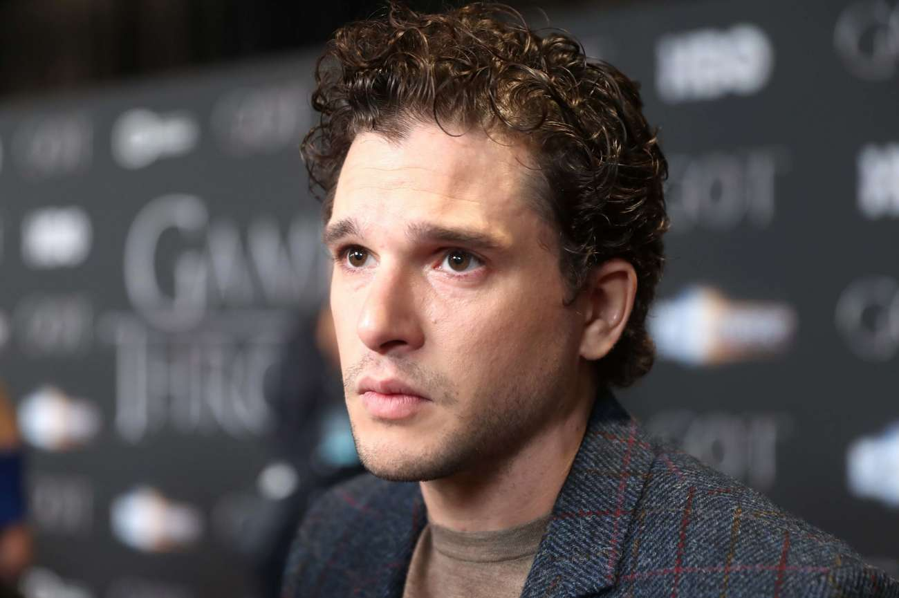 Kit Harington, el actor británico que interpretó a Jon Snow en...