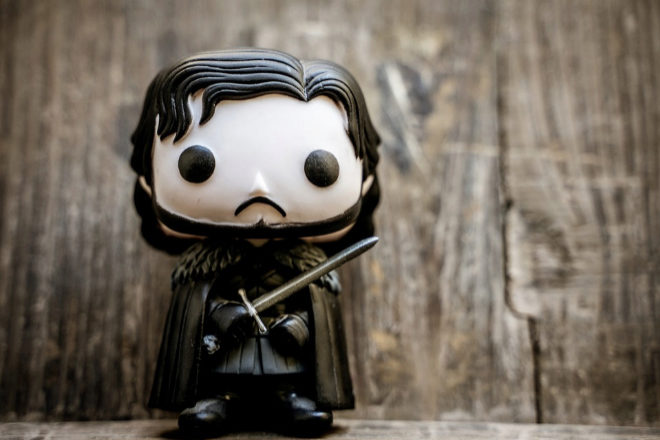 Un muñeco de Jon Snow.