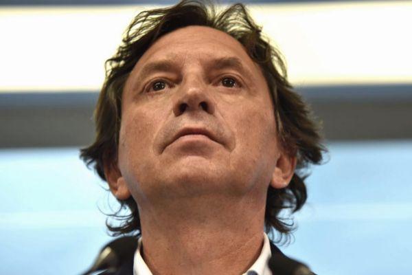 Mateo Isern en la noche electoral.