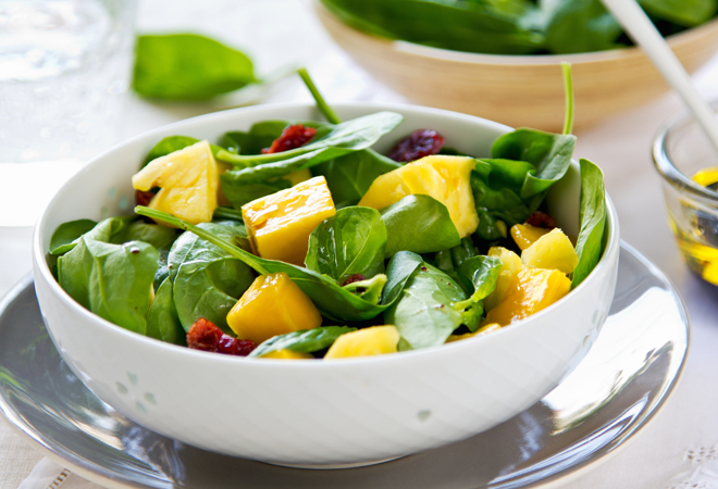 comer pina te hace bajar de peso