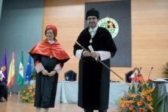 Juan Gómez Ortega es investido por segunda vez rector de la Universidad de Jaén