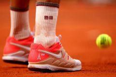 El recuerdo inolvidable en las zapatillas de Federer