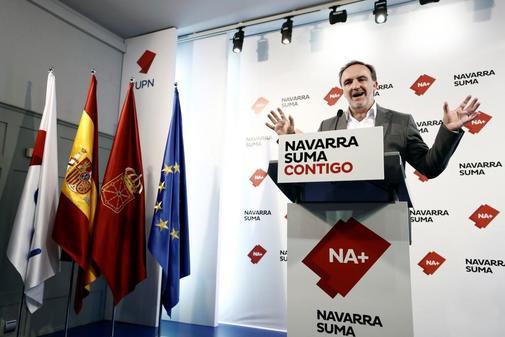 Javier Esparza, líder de UPN y candidato de Navarra Suma