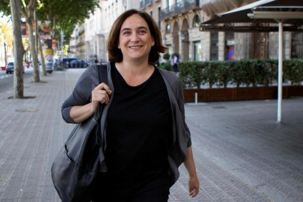 Ada Colau, alcaldesa de Barcelona en funciones.