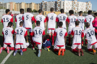 'Mono', 'negrata' o 'gorila': el Alma de África, fútbol contra el racismo