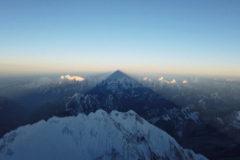 La sombra mortal que cuelga de Everest