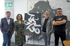 Enrique Monfort, Glòria Tello, Vicent Ros y Boke Bazán, ayer, durante la presentación del festival.