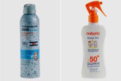 Pide que no se utilicen dos cremas para niños que no ofrecen la protección que marcan