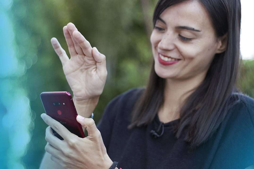 LG G8 ThinQ, el teléfono que te puede leer la mano