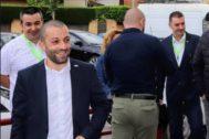 El representante de Vox Sergi Fabri que ha obtenido una concejalía en Salt.