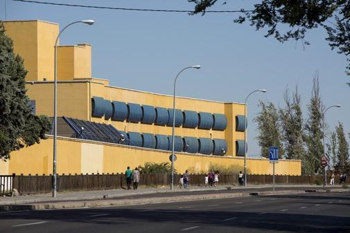 Centro de Internamiento de Extranjeros (CIE) situado en Aluche