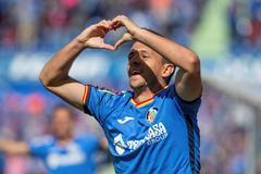 El centrocampista serbio del Getafe, Maksimovic.