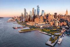 Panorámica de Hudson Yards.