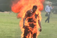 Muere el hombre que se quemó frente a la Casa Blanca