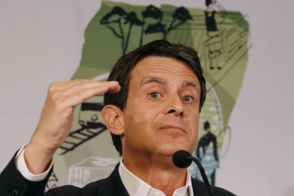 El candidato de Cs a la Alcaldía de Barcelona, Manuel Valls.