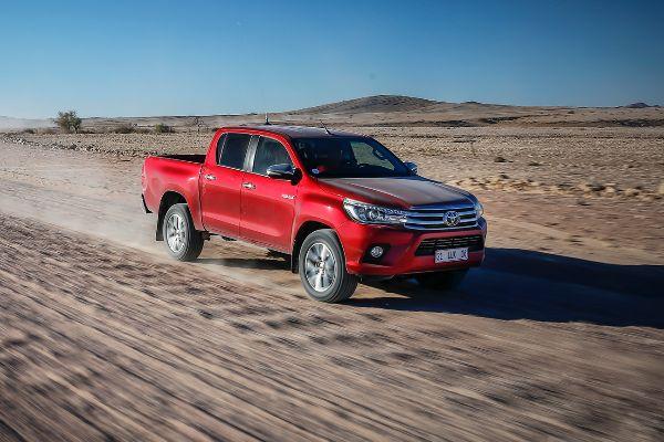 Un Toyota Hilux como los que se fabricarán en Birmania.