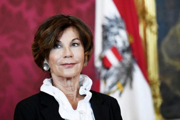 EPA6733. VIENA (AUSTRIA).- Brigitte <HIT>Bierlein</HIT>, presidenta...
