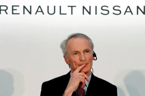 El presidente del grupo Renault, Jean-Dominique Senard.