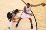 == FOR NEWSPAPERS, INTERNET, TELCOS & TELEVISION USE ONLY == TORONTO, ONTARIO - MAY 25: <HIT>Kawhi</HIT> Leonard #2 of the Toronto Raptors handles the ball against Giannis Antetokounmpo #34 of the Milwaukee Bucks during the second half in game six of the NBA Eastern Conference Finals at Scotiabank Arena on May 25, 2019 in Toronto, Canada. NOTE TO USER: User expressly acknowledges and agrees that, by downloading and or using this photograph, User is consenting to the terms and conditions of the Getty Images License Agreement. Claus Andersen/Getty Images/AFP