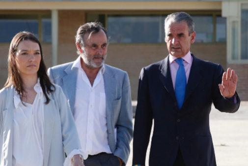 Mario Conde saliendo de la cárcel de Soto del Real