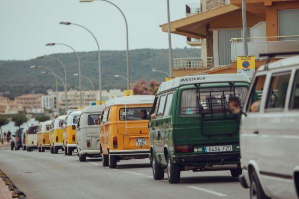 Más de 730 furgonetas inscritas a la FurgoVolkswagen
