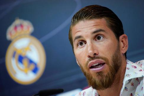 Real Madrid - <HIT>Sergio</HIT> <HIT>Ramos</HIT> Press Conference
