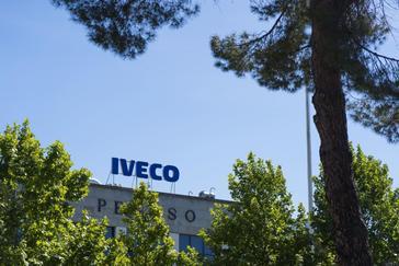 Fachada de la empresa Iveco en Madrid.