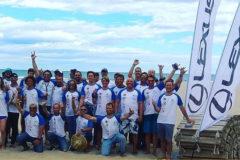 Foto final de los participantes en el Campeonato.