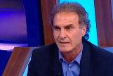 Oscar Ruggeri, en el programa '90 minutos de fútbol' de la televisión argentina, donde hizo la revelación.