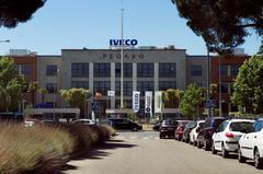 Vista de la fábrica de Iveco, esta semana.