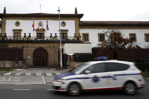 Prisión de Martutene en San Sebastián.