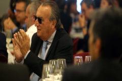 Carlos Fabra en el desayuno de campaña que ofreció Begoña Carrasco.