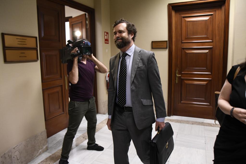 Iván Espinos de los Monteros, responsable del comité negociador de Vox.