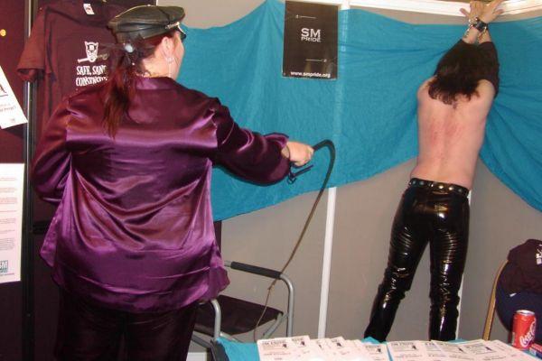 Feria de fetichismo en Londres.