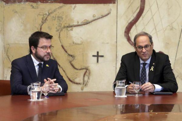 Antonio Moreno 31.05.2019 Barcelopna Cataluña.El president...