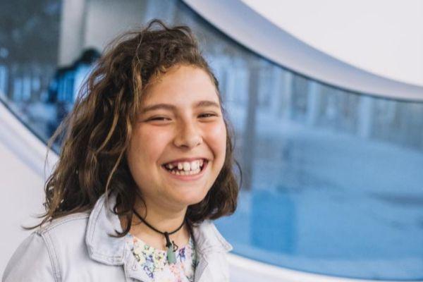 Violeta, en una imagen reciente tomada en Barcelona.