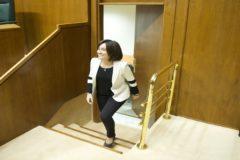 Idurre Bideguren, este jueves en el Parlamento Vasco